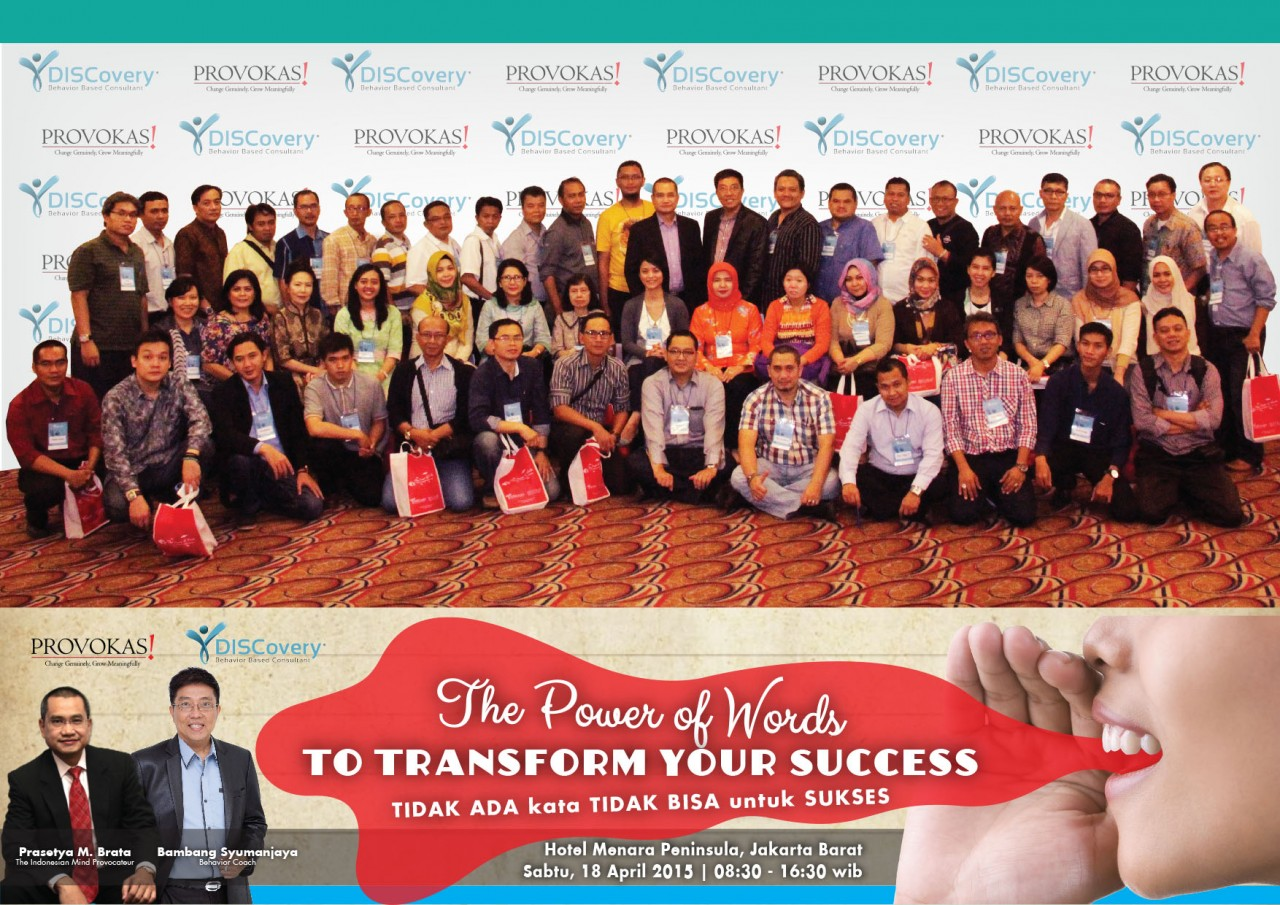 The Power of Words to Transform Your Success - Bambang Syumanjaya latest-update